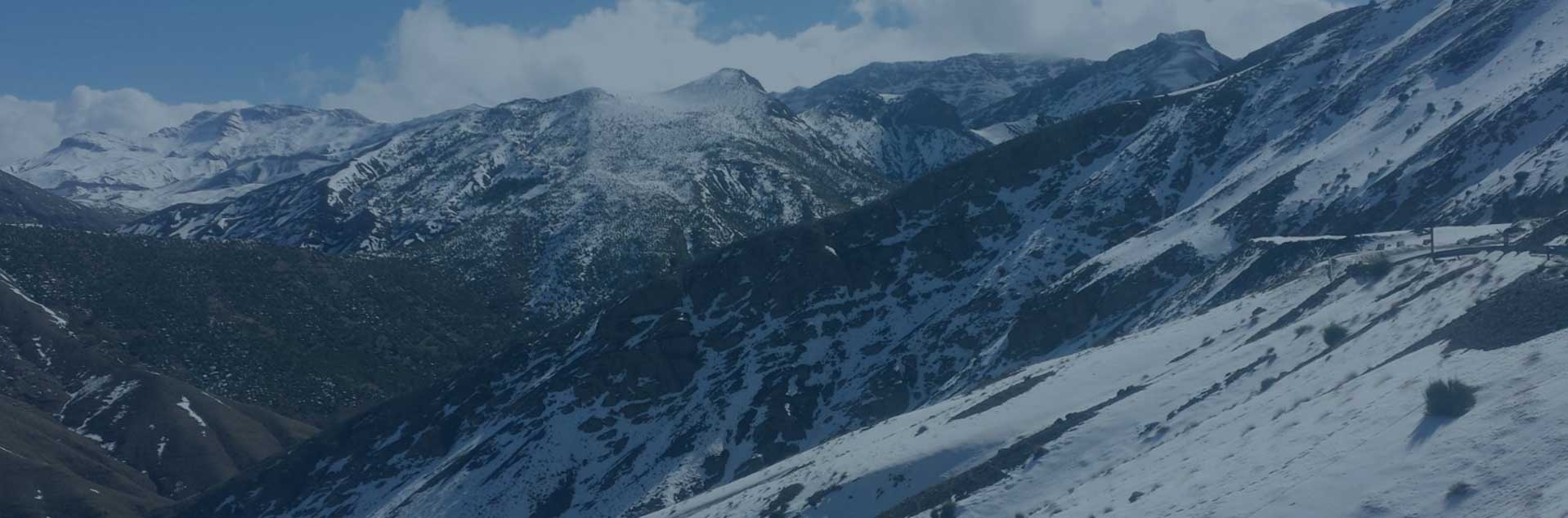 Header photo of Snowy Mountains in Morocco